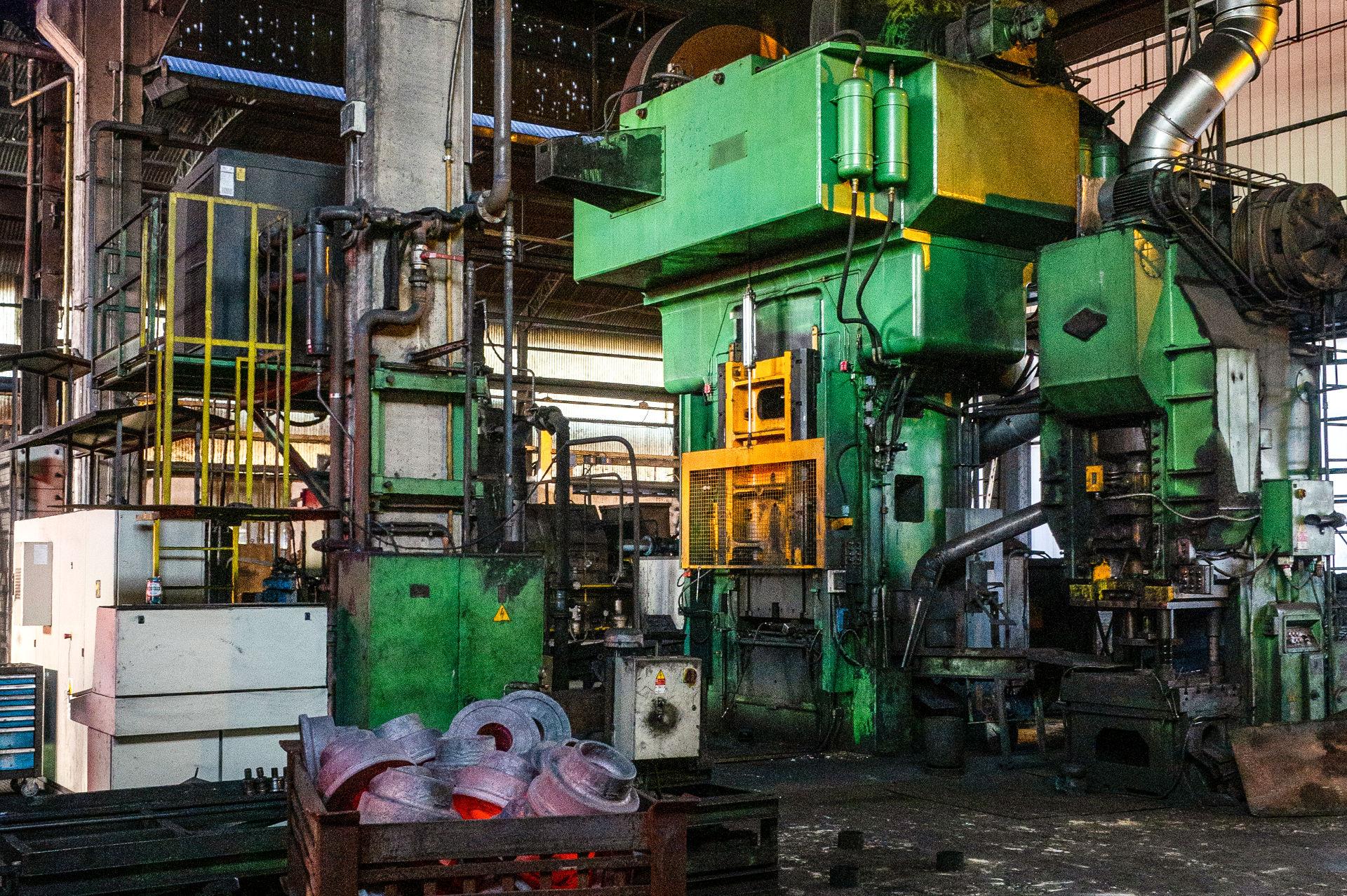 Sadam - linee produttive acciaio